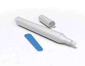 3D Nail Pencil with file