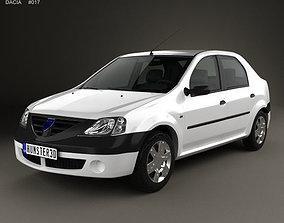 Dacia Logan 2004 3D
