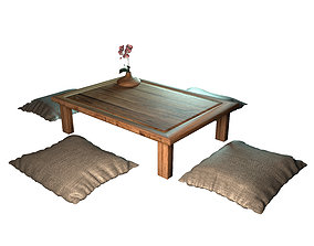 3D Low table japanese
