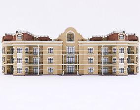 Classic Townhouse 3D model