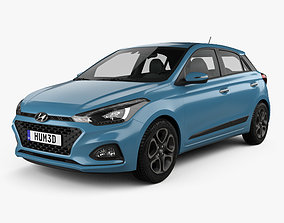 Hyundai i20 5-door 2018 3D model