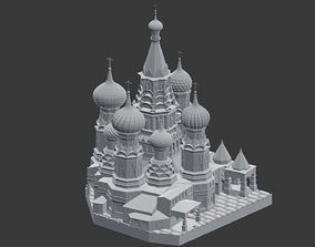 Saint Basils Cathedral 3D print model