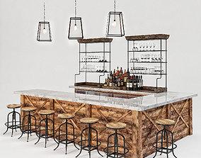 3D model Loft Bar Collection 5
