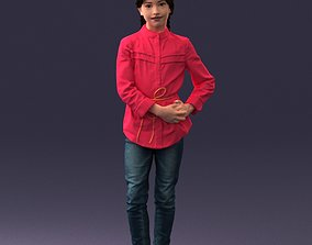 3dprint The girl in the red jacket 0258 3D Print Ready