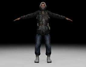 Stalker - Bandit 01 3D model