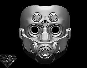 TitanFall 2 Pilot Sci fi mask 3D printable model