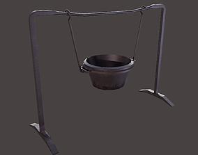 3D model Suspended Cooking Pot