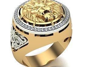 3D printable model MAN RING gold