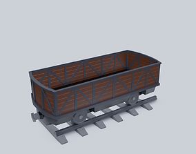 Freight Wagon v3 3D model