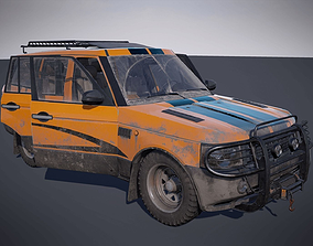 Offroad vehicle 3D asset