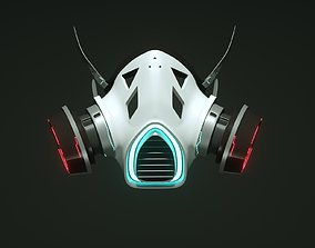 fi Gas Mask 3d model