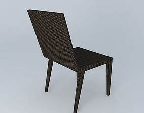 3D Quinta Woven Side Chair