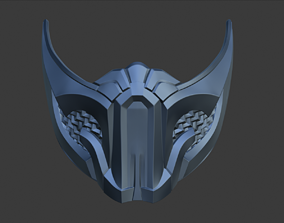 3D printable model Sub Zero ninja mask for face from 5