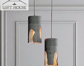 Hanging lamp LOFT HOUSE P-185 3D