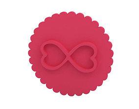Cookie stamp Stamp food 3D printable model