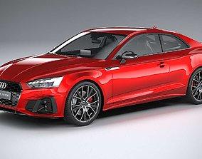Audi S5 Coupe 2020 CoronaRender 3D model