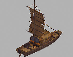 3D model Game Crescent Crescent - Sailboat 03