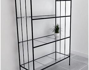 3D model wrought iron shelf