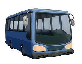 Cartoon Bus 3D