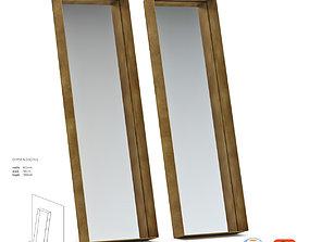 De Castelli Frame Mirror 3D model