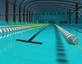 Official size swimming pool w Refraction Satisfaction 3D