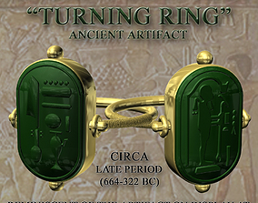 Ancient Egyptian Turning Ring 3D model