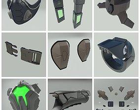 Viper 3D models Mega set Valorant