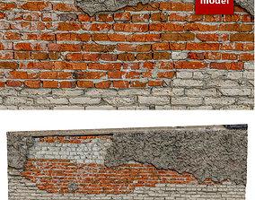 328 Stone Wall 3D asset