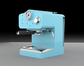 coffee machine coffeemaker 3D
