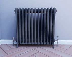 3D asset Cast Iron Radiator