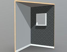 3D model Room Corner