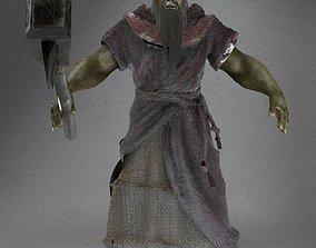 Doombringer Not rigged 3D asset