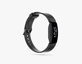 Fitbit Inspire HR 3D model