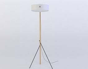 low-poly RBW EXCEL FLOOR LAMP 3D MODEL