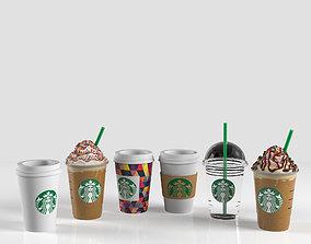 3D asset Coffe Cup Starbucks