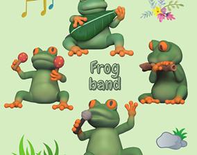 3D print model Frog Band