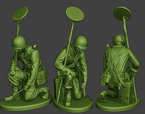 American engineer soldier ww2 Searching A9 3D print model