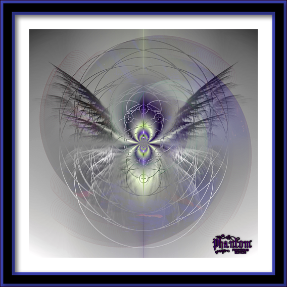 My digital geometric abstract art