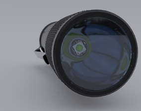 3D model Pocket flashlight