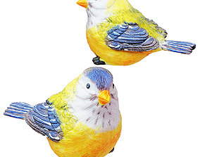 Figurine Yellow bird 02 3D model