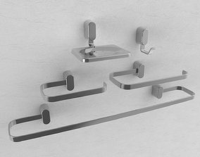 Shower Metals Collection 01 architecture 3D
