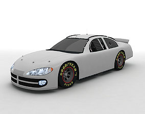 3D 2002 Dodge Intrepid Stock Car NASCAR