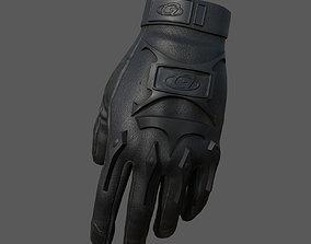 Gloves Sci-fi military fantasy combat soldier 3D asset 1