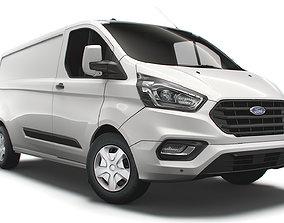 Ford Transit Custom L2H1 Trend UK spec 2020 3D model