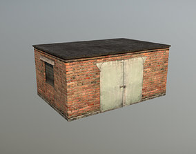3D model Railway Shed RW Shed 05
