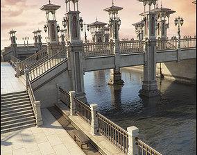 3D Bridge of Cheirocrates Iray Addon