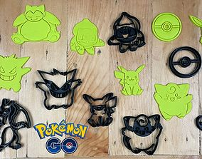 3D printable model Pokemon Go Characters