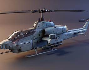 3D model Bell AH-1 Cobra