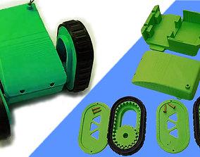 3D print model CRAWLING ROBOT V1