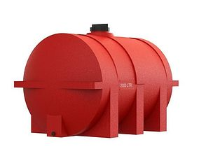 3D print model water tank